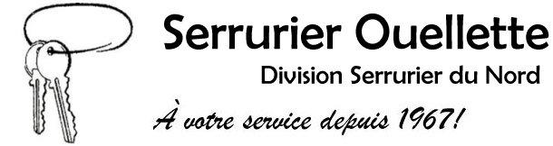 Serrurier Ouellette, division Serrurier du Nord Logo